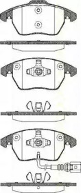 Комплект передних тормозных колодок